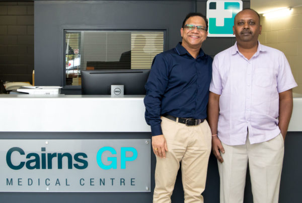 2 owners of Cairns Medical Centre